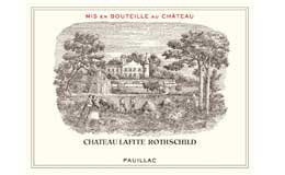 Chateau Lafite Rothschild wine